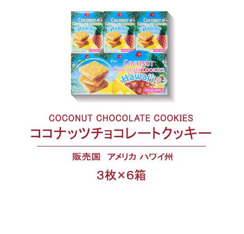 ココナツチョコレートクッキー
